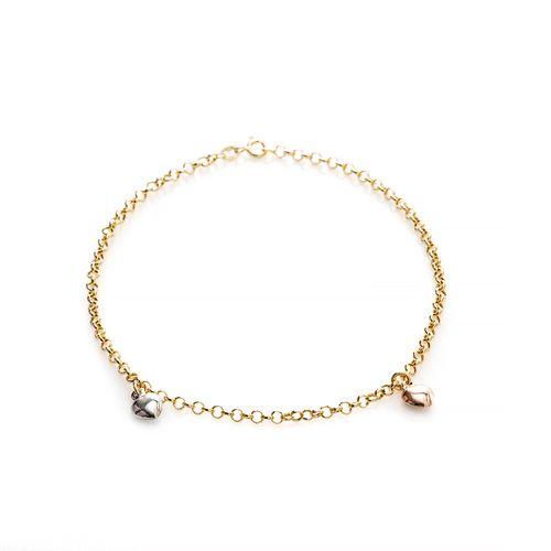 Tornozeleira-em-Ouro-18k-Coracoes-Tricolor-com-25cm-to00199-joiasgold
