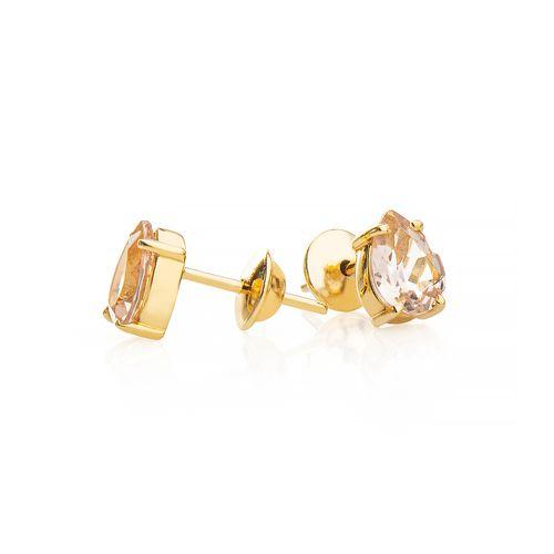 Brinco-em-Ouro-18k-Morganita-Gota-br23116--joiasgold