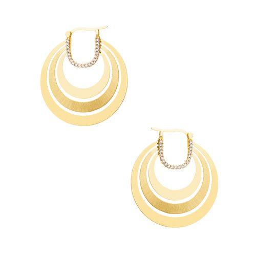 Brinco-em-Ouro-18k-Circulos-Triplo-Vazado-com-Zirconia-br23463-joiasgold
