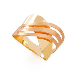 Anel-em-Ouro-18k-Bicolor-Fios-Ondulados-an35165-joiasgold