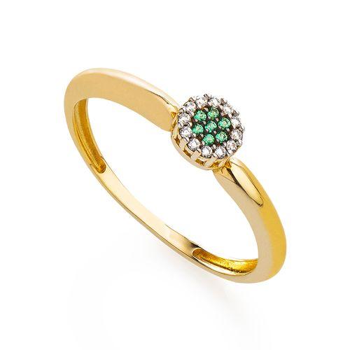 Anel-em-Ouro-18k-Chuveiro-Zirconia-Verde-e-Branca-an35651--joiasgold