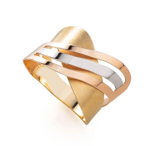 Anel-em-Ouro-18k-Tricolor-Fios-Ondulados-Trabalhados-an35163-joiasgold