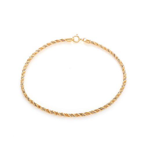 Pulseira-em-Ouro-18k-Oval-Borda-Zirconia-Cartier-17cm-pu05030-joiasgold