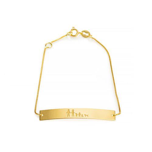 Pulseira-em-Ouro-18k-Placa-Lisa-Familia-Veneziana-16cm-pu05079--joiasgold