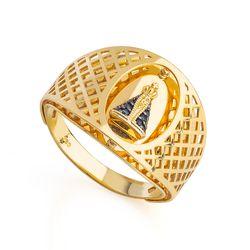 4118c0fbbe203 Religioso em Anéis - Anel de Ouro – joiasgold