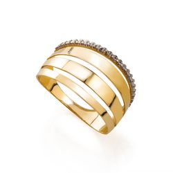 Anel-de-Ouro-18k-Abaulado-Vazado-com-Filete-Rodinado-an34575--Joiasgold