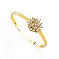 Anel-de-Ouro-18k-Flor-Chuveiro-com-Zirconia-an34892-Joias-Gold