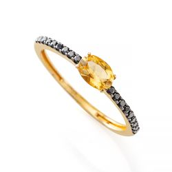 Anel-de-Ouro-18k-Citrino-Oval-com-Espinelio-an36113-Joias-Gold