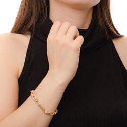 Pulseira-de-Ouro-18k-Circulos-Ovais-Trabalhados-com-Zirconia-20cm-pu04150--joiasgold
