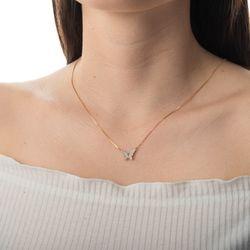 Gargantilha-de-Ouro-18k-Borboleta-Rodinada-com-Zirconia-42cm-ga04577-joiasgold