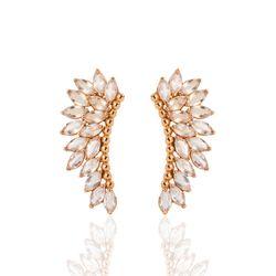 Brinco-de-Ouro-Rose-18k-Ear-Cuff-32-Cristais-br21126--Joias-Gold