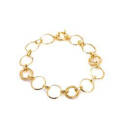 Pulseira-de-Ouro-18k-Circulos-Trabalhados-19cm-pu04635-Joias-Gold