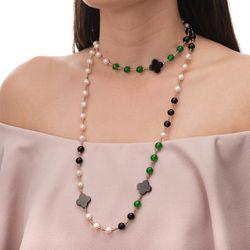 Colar-Flor-Agata-Negra-Jade-Verde-e-Hematitas-Bronze-ga04911--joiasgold
