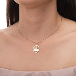 Pingente-em-Ouro-18k-Oval-com-Imagem-Oxum-pi19910--joiasgold