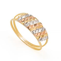 Anel-de-Ouro-18k-Quadriculado-Tricolor-Diamantado-an36123-joiasgold