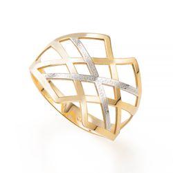 Anel-de-Ouro-18k-Fios-Vazados-Bicolor-an35967--joiasgold