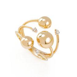 Anel-de-Ouro-18k-Meia-Bola-Lisa-com-3-Diamantes-an36155--joiasgold---Copia