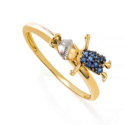 Anel-de-Ouro-18k-Menino-Pendurado-com-Zirconia-Azul-an31003-joiasgold