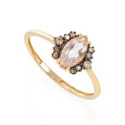 Anel-de-Ouro-18k-Quartzo-Rosa-com-Diamantes-Chocolate-an36431-joiasgold