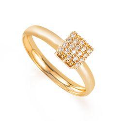 Anel-de-Ouro-18k-Chuveiro-Quadrado-com-Zirconia-an36417-Joias-Gold