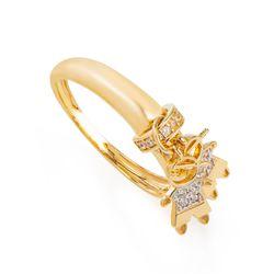 Anel-de-Ouro-18k-Dois-Meninos-com-Zirconia-Branca-an36545-Joias-Gold