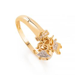Anel-de-Ouro-18k-Filhos-Menino-e-Menina-com-Zirconias-an36549-Joias-Gold