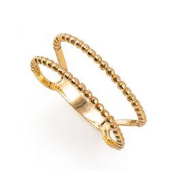 Anel-em-Ouro-18k-Falange-Aro-Bolinha-Duplo-Vazado-an35449-Joias-Gold