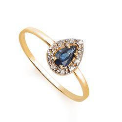 Anel-em-Ouro-18k-Gota-Safira-com-Diamantes-an33263-Joias-Gold