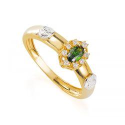 Anel-de-Formatura-em-Ouro-18k-Nutricao-com-Zirconia-Verde-an35884--joias-gold