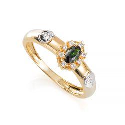 Anel-de-Formatura-em-Ouro-18k-Medicina-com-Zirconia-Verde-an35919--joias-gold
