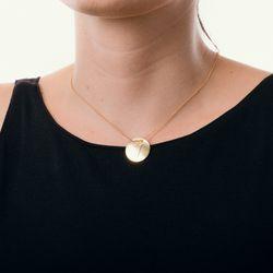 Gargantilha-em-Ouro-18k-Medalha-Letra-V-Rodinada-com-40cm-ga05088--joiasgold