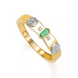 Anel-de-Formatura-em-Ouro-18k-Nutricao-com-Zirconia-Verde-an35900-joiasgold
