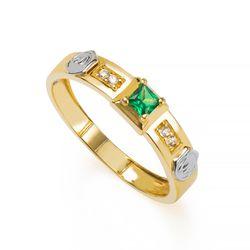 Anel-de-Formatura-em-Ouro-18k-Medicina-com-Zirconia-Verde-an35908-joiasgold