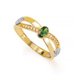 Anel-de-Formatura-em-Ouro-18k-Medicina-com-Zirconia-Verde-an36294-joiasgold