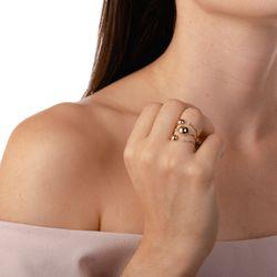 Anel-de-Ouro-18k-Meia-Bola-Lisa-com-3-Diamantes-an36155-Joias-Gold