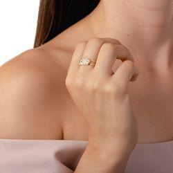 Anel-de-Ouro-18k-Quadriculado-Tricolor-Diamantado-an36123-Joias-Gold