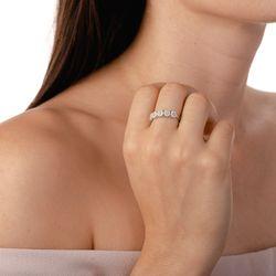 Anel-de-Ouro-Branco-18k-Meia-Alianca-Flores-com-Diamantes-an36441-Joias-Gold