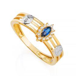 Anel-de-Formatura-em-Ouro-18k-Administracao-com-Zirconia-Azul-an35886-Joias-Gold