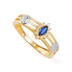 Anel-de-Formatura-em-Ouro-18k-Arquitetura-com-Zirconia-Azul-an36283-Joias-Gold
