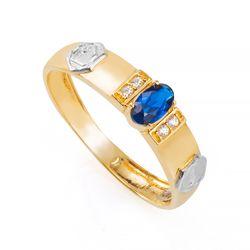 Anel-de-Formatura-em-Ouro-18k-Arquitetura-com-Zirconia-Azul-an36308-Joias-Gold