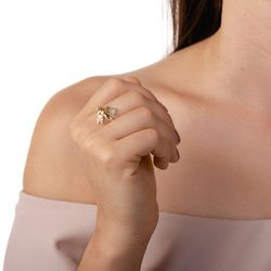 Anel-de-Ouro-18k-Duas-Meninas-com-Zirconia-an36550-Joias-Gold