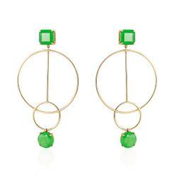 Brinco-de-Ouro-18k-Circulos-com-Jade-Verde-br22772