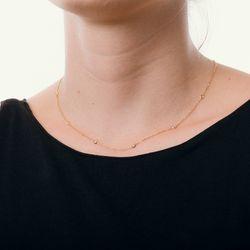 Gargantilha-de-Ouro-18k-Zirconias-Intercaladas-Cartier-40cm-ga05009--joiasgold