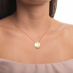 Gargantilha-em-Ouro-18k-Medalha-Letra-G-Rodinada-com-40cm-ga05118--joiasgold