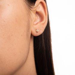 Brinco-de-Ouro-18k-Flor-Zirconia-Rosa-com-Perola-br23625-Joias-gold