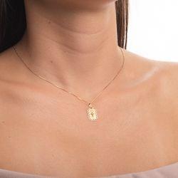Pingente-de-Ouro-18k-Placa-Oracao-Pai-Nosso-Cruz-5-Diamantes-pi19992--joiasgold