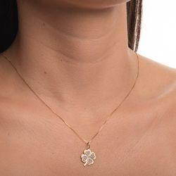Pingente-de-Ouro-18k-Trevo-Rodinado-com-1-pedra-de-Tsavorita-pi19969-joiasgold