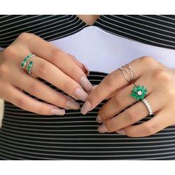 anel-ouro-branco-diamantes-esmeraldas-joiasgold