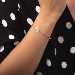 Pulseira-de-Ouro-18k-Bolas-Menino-e-Menina-com-19cm-pu05253-Joias-gold