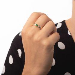 Anel-de-Formatura-em-Ouro-18k-Medicina-com-Zirconia-Verde-an35908-Joias-gold